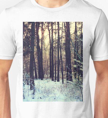 Winter landscape Unisex T-Shirt