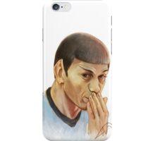 Spock oops! iPhone Case/Skin