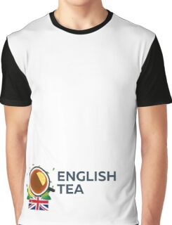 Tea time. Cup of tea with lemon. English tea Graphic T-Shirt