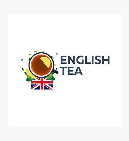 Tea time. Cup of tea with lemon. English tea Photographic Print