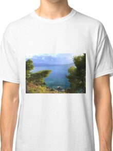 Seacoast Forest - Nature Photography Classic T-Shirt