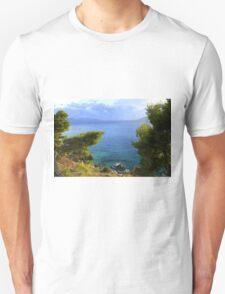 Seacoast Forest - Nature Photography Unisex T-Shirt