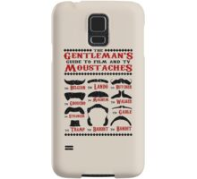 The Gentleman's Guide To Film & TV Moustaches Samsung Galaxy Case/Skin