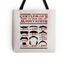 The Gentleman's Guide To Film & TV Moustaches Tote Bag