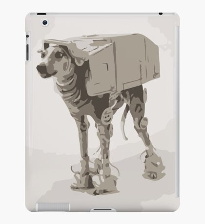 AT-ATDog#4 iPad Case/Skin
