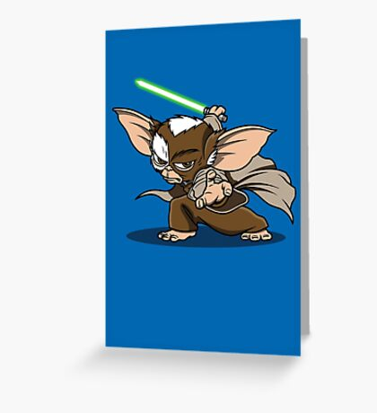 Master Mogwai Greeting Card