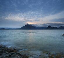 Isle of Skye Sunset by Maria Gaellman