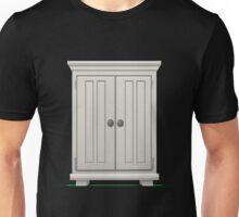 Glitch furniture largecabinet basic white large cabinet Unisex T-Shirt