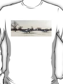 Spitfires in the snow T-Shirt