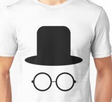 Hat and glasses seamless Unisex T-Shirt