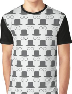 Hat and glasses seamless Graphic T-Shirt