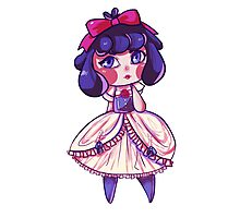 Chibi Disney Snow White Photographic Print