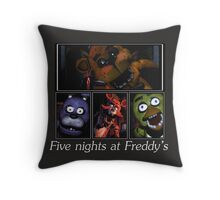 Five nights at Freddy's Throw Pillow