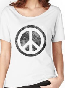 Peace Symbol - Dissd Women's Relaxed Fit T-Shirt