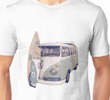 The Original Dubtastic Mega Surfboard Campervan Unisex T-Shirt