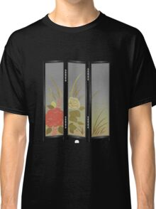 Glitch furniture largefrontfloordeco flower screen  Classic T-Shirt