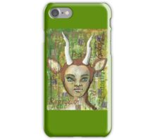 Spirit of the Green Wood iPhone Case/Skin