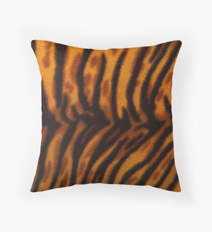 Cheetah Cat Throw Pillow