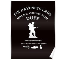 Battlefield Duff Poster