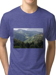 mountain landscape Tri-blend T-Shirt