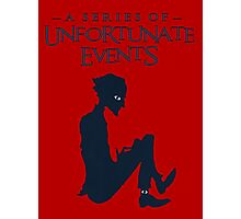 A series of unfortunate events Olaf RED Photographic Print