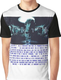 Doctor Who Pandorica Opens (Speech) Graphic T-Shirt
