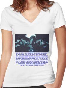 Doctor Who Pandorica Opens (Speech) Women's Fitted V-Neck T-Shirt
