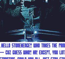 Doctor Who Pandorica Opens (Speech) Sticker