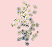 Riot of Spring Flowers tee Kids Clothes
