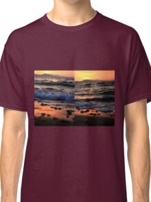 Evening Waves - Nature Photography Classic T-Shirt