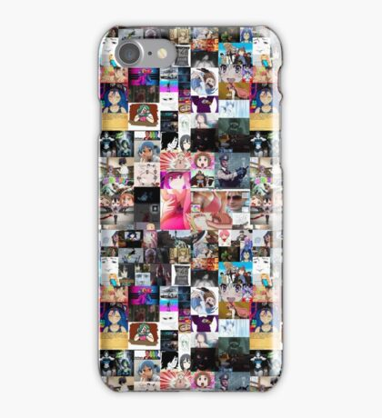 Anime, Games & MEMES [Collage] iPhone Case/Skin