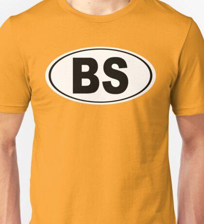Bonita Springs Florida Oval BS Unisex T-Shirt