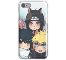 Naruto chibi iPhone Case/Skin