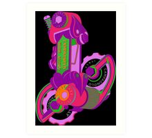 The World's Most Famous 70's Derailleur, One Cool Cat Art Print