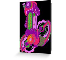 The World's Most Famous 70's Derailleur, One Cool Cat Greeting Card