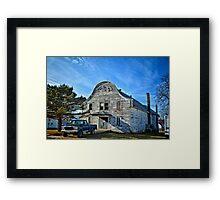The Old Building Framed Print