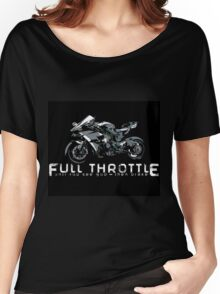 Full throttle by ERGD Women's Relaxed Fit T-Shirt