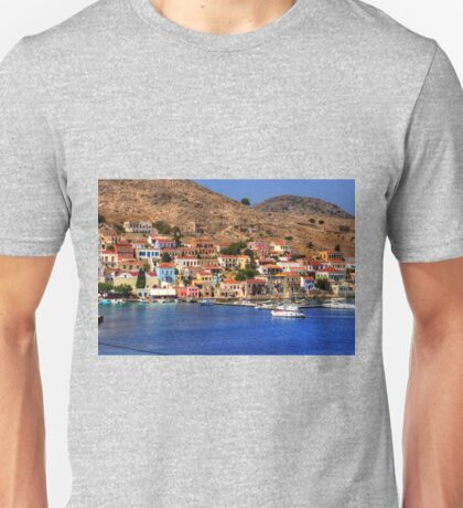 The Waterfront on Chalki Unisex T-Shirt
