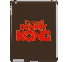It's on like Donkey Kong! V2 iPad Case/Skin