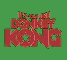 It's on like Kong! V2 Kids Clothes