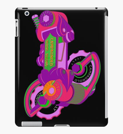 The World's Most Famous 70's Derailleur, One Cool Cat iPad Case/Skin
