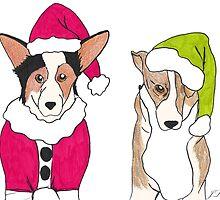 Corgi Christmas by J. L. Gould