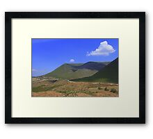 Lonely Cloud - Nature Photography Framed Print