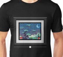 Glitch furniture largewalldeco uralia post impressionism painting Unisex T-Shirt