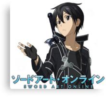 Anime: SWORD ART ONLINE Canvas Print