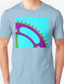 Psychedeli-Cat Chainring Unisex T-Shirt