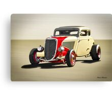 1934 Ford Five-Window 'Jalopy Style' Canvas Print