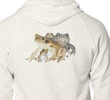 The Toads Zipped Hoodie
