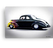 1940 Ford Coupe 'Studio' Canvas Print