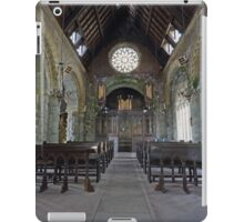 St Conans Kirk (nterior) iPad Case/Skin